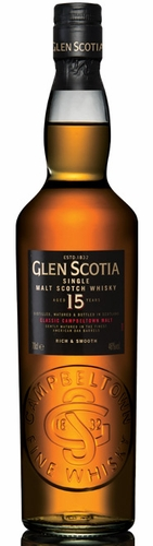 Glen Scotia 15 Year Old Single Malt Scotch Whisky