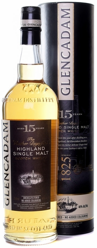 Glencadam 15 Year Old Single Malt Scotch