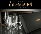 Glencairn Gift Box with 4 Logo Glasses