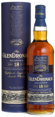 Glendronach 18 Year Old Single Malt Scotch