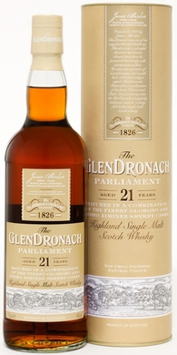 Glendronach Parliament 21 Year Old Single Malt Scotch 750ML