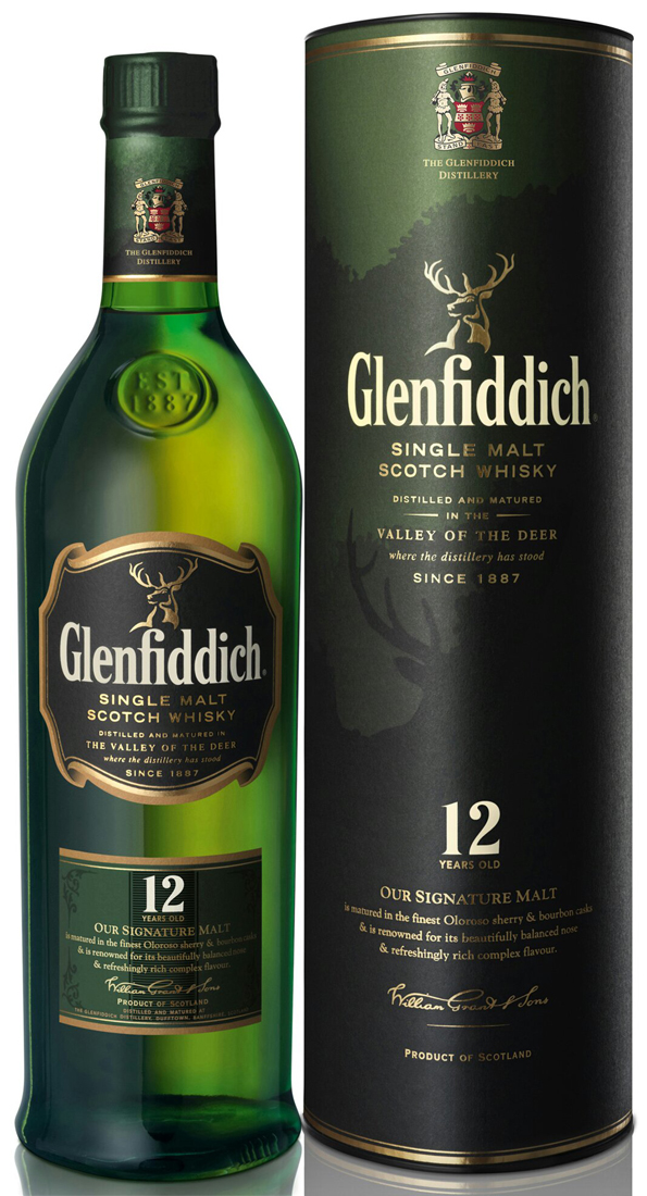 Glenfiddich 12 Year Old Single Malt Scotch