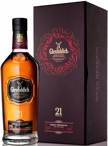 Glenfiddich 21 Year Old Single Malt Scotch