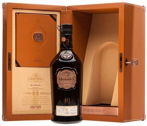 Glenfiddich 40 Year Old Single Malt Scotch 2014