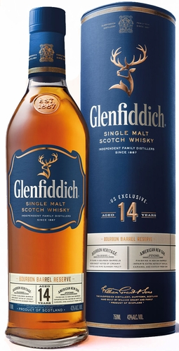 Glenfiddich Bourbon Barrel Reserve 14 Year Old Single Malt