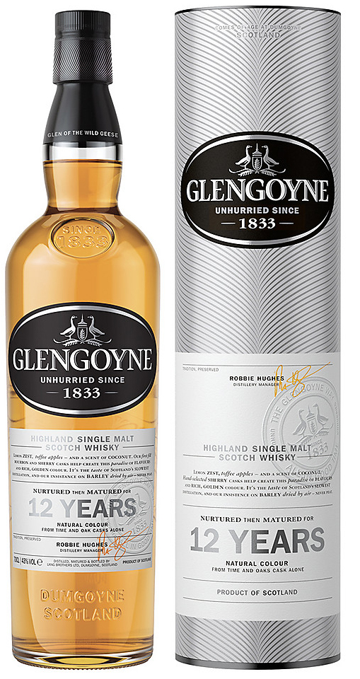 Glengoyne 12 Year Old Single Malt Scotch