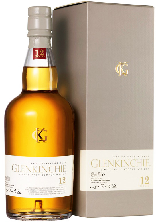 Glenkinchie 12 Year Old Single Malt Scotch