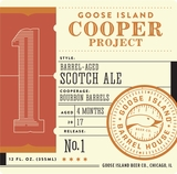 Goose Island Cooper Project Bourbon Barrel Aged Scotch Ale