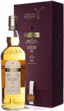 Gordon & MacPhail Littlemill 23 Year Old Single Malt Whisky 1991