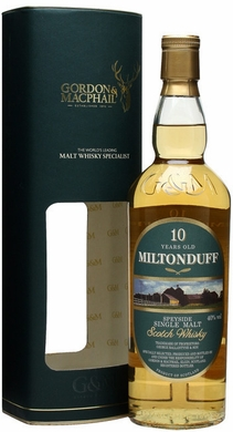 Gordon & Macphail Miltonduff 10 Year Old Scotch