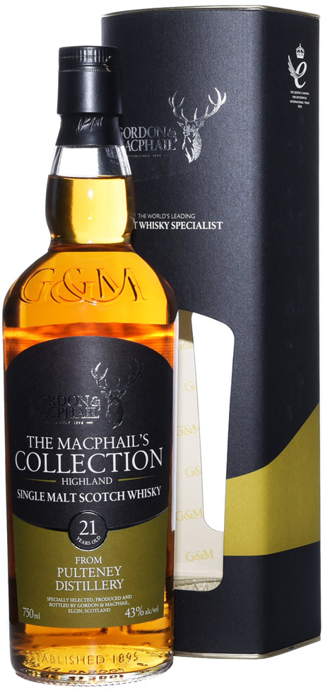 Gordon & MacPhail Old Pulteney 21 Year Old Single Malt Scotch