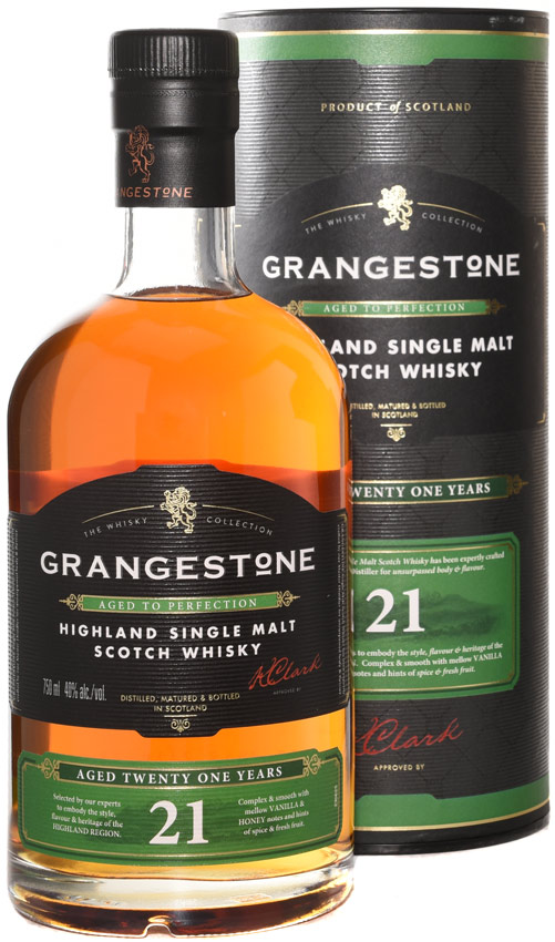 Grangestone 21 Year Old Single Malt Scotch 750ML