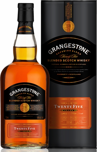 grangestone 25 year old blended scotch whisky