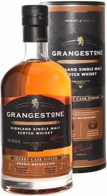 Grangestone Sherry Cask Double Cask Matured Single Malt Scotch 750ML