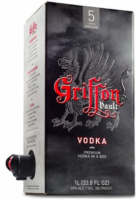Griffon Vault Box Vodka 1L