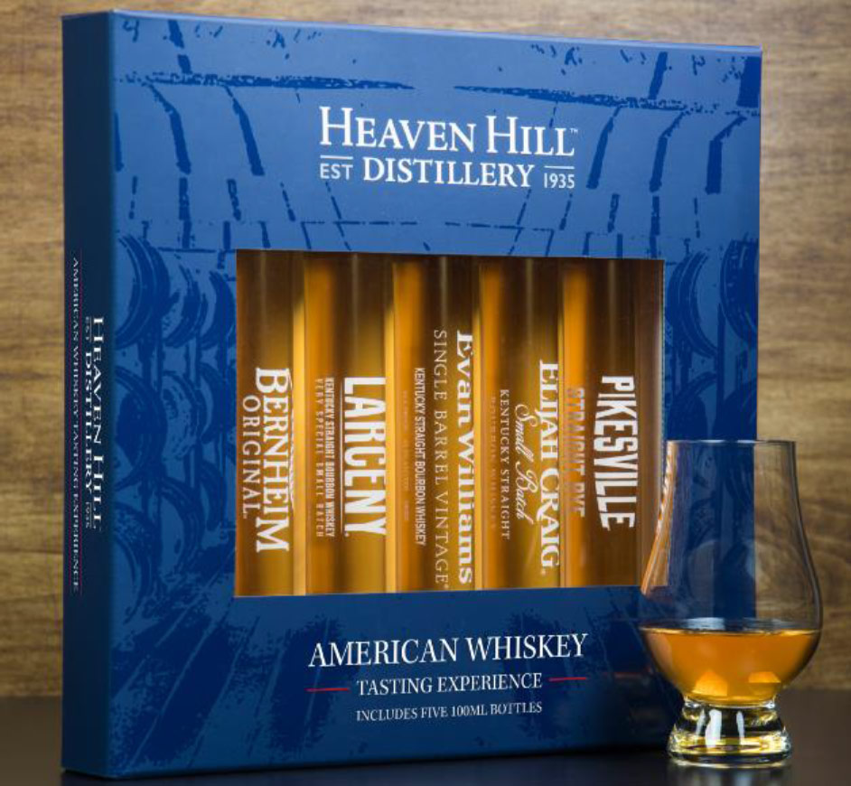 Heaven Hill Tasting Experience 100ML Sampler Pack