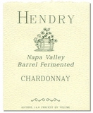 Hendry Chardonnay Barrel Fermented 750ML