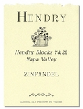 Hendry Zinfandel Blocks 7 & 22