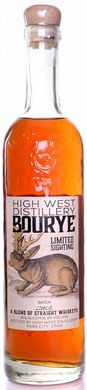 High West Bourye Whiskey Limited Sighting 2017 Release