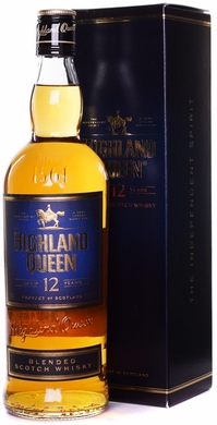 Highland Queen 12 Year Old Blended Scotch