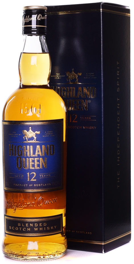 Highland Queen 12 Year Old Blended Scotch 750ML
