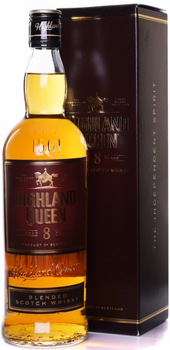 Highland Queen 8 Year Old Blended Scotch 750ML