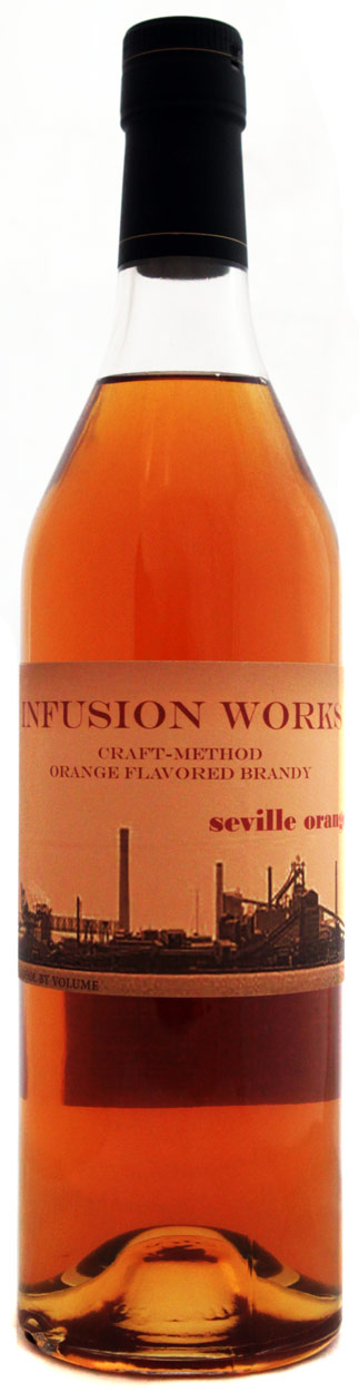 Infusion Works Seville Orange Flavored Brandy 750ML