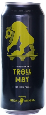 Insight Brewing an Obstruction on the Troll Way Citrus IPA 4PK