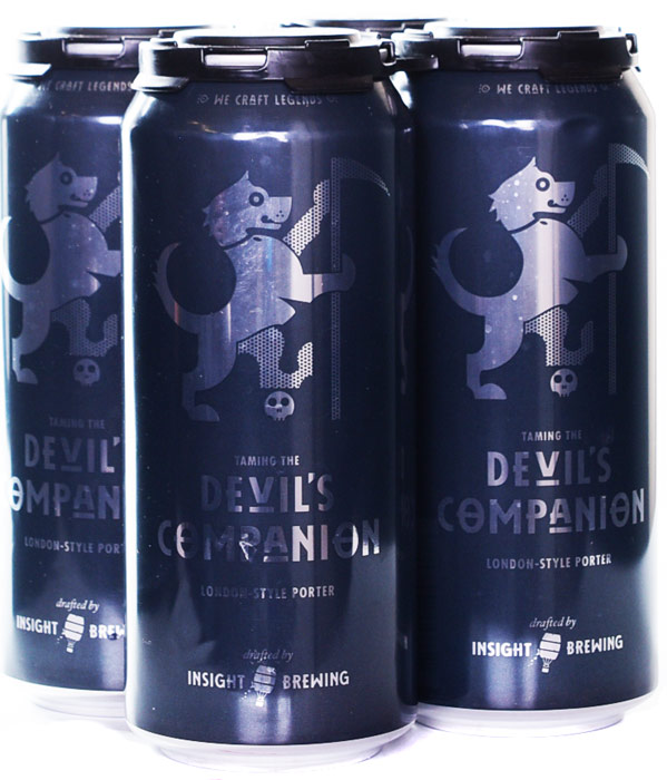 Insight Brewing Taming the Devils Companion London Style Porter 4PK