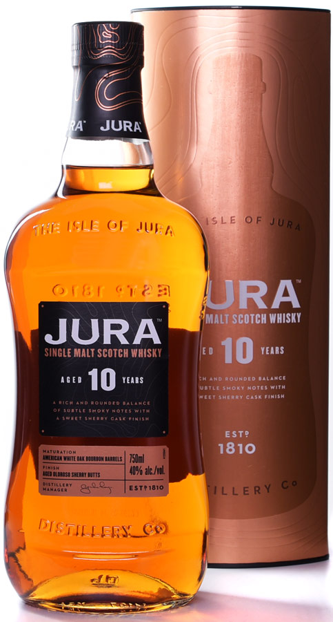 Isle of Jura Origin 10 Year Old Single Malt Scotch 750ML