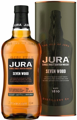 Isle of Jura Seven Wood Single Malt Scotch Whisky