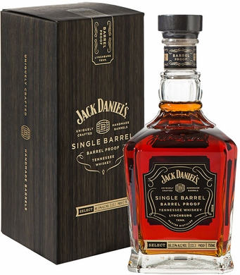 Jack Daniels Single Barrel Barrel Proof Whiskey