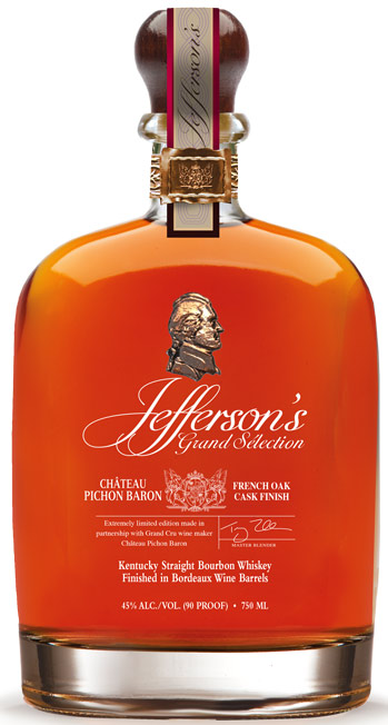 Jefferson's Grand Selection Chateau Pichon Baron Cask Finish Bourbon