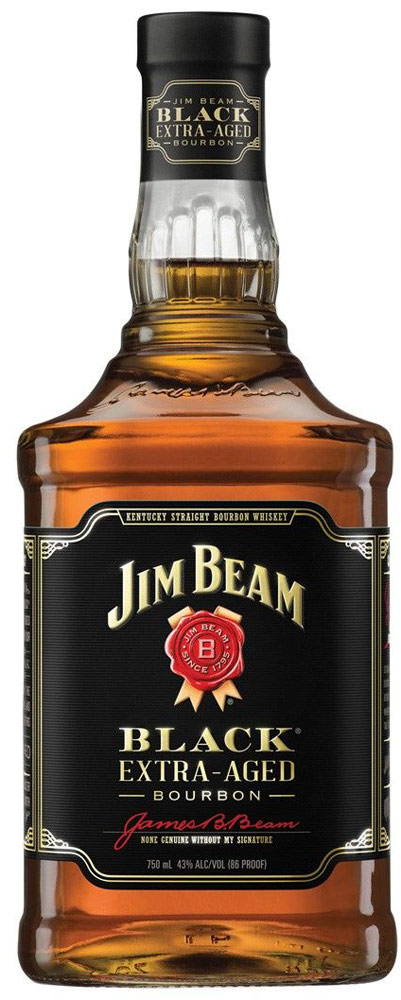Jim Beam Black Label Extra Aged Bourbon 1.75L