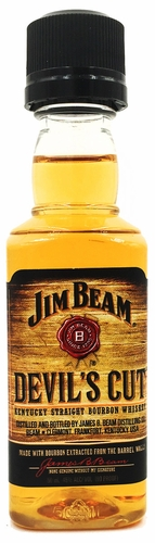 Jim Beam Devil's Cut Bourbon Whiskey 50ML Minature