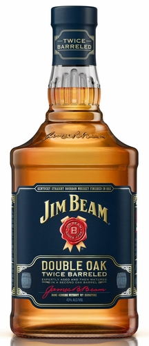 Jim Beam Double Oak Twice Barreled Bourbon Whiskey 1L