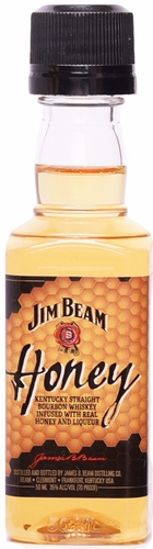 Jim Beam Honey Flavored Bourbon 50ML