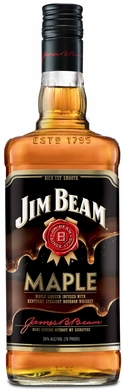 Jim Beam Maple Flavored Bourbon 1L