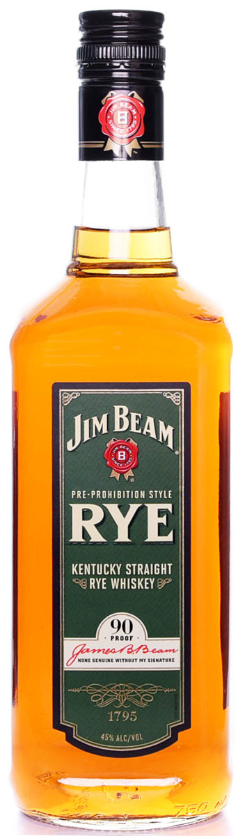 Jim Beam Rye Whiskey 750ML
