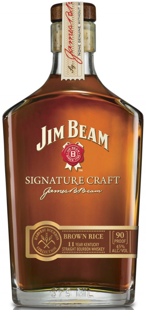 Jim Beam Signature Craft Harvest Collection- Brown Rice 375ML
