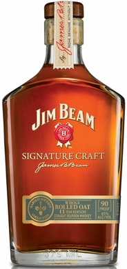 Jim Beam Signature Craft Harvest Collection- Whole Rolled Oat 375ML
