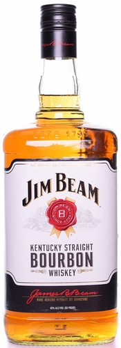 Jim Beam Bourbon Whiskey 1.75L