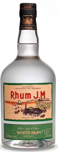 Rhum J.M Agricole Blanc 100 Proof Rum 750ML