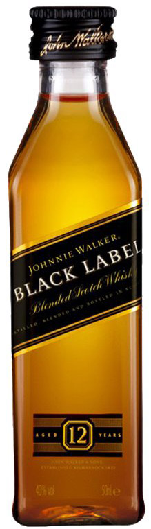 Johnnie Walker Black Label Blended Scotch 50ML
