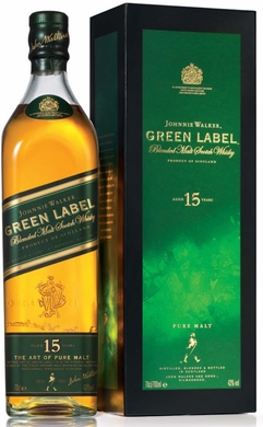 Johnnie Walker Green Label 15 Year Old Blended Scotch