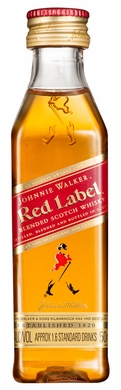 Johnnie Walker Red Label Blended Scotch 50ML