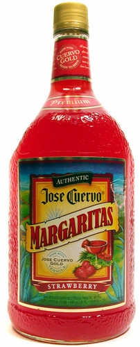 Jose Cuervo Authentic Strawberry Margarita 1.75L