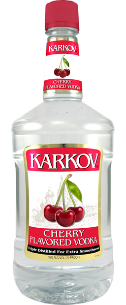 Karkov Cherry Vodka 1.75L