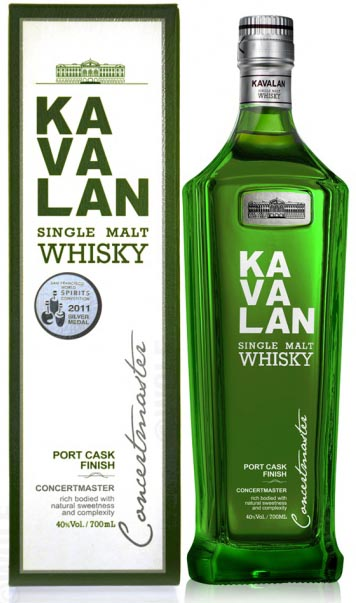 Kavalan Concertmaster Port Cask Finished Whisky
