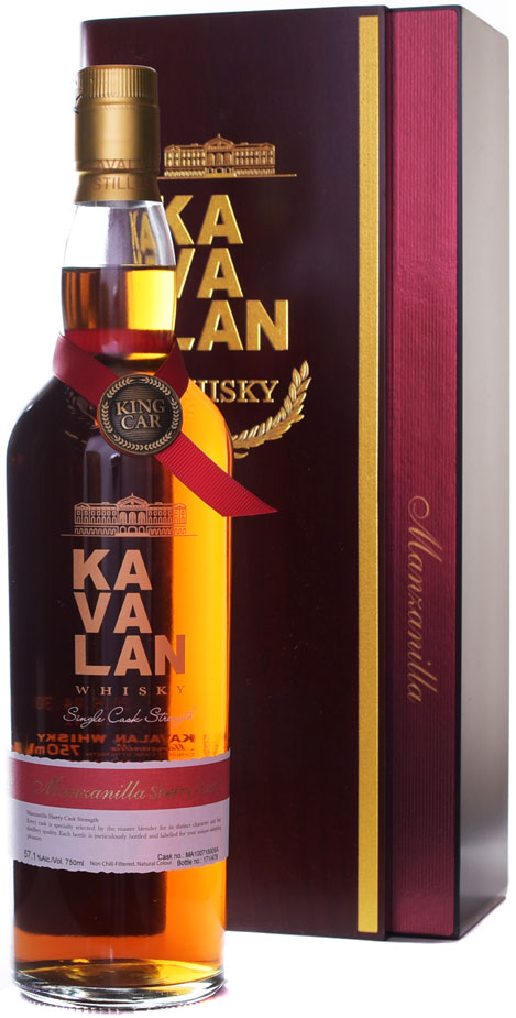 Kavalan Manzanilla Sherry Cask Strength Single Malt Whisky